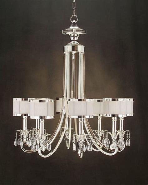 Classy Home Decor by John Richard 8 Light Chandelier Ajc 8512 Modern
