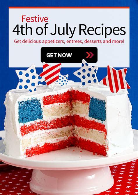 fourth of july menu martha stewart festive 4th of july recipes