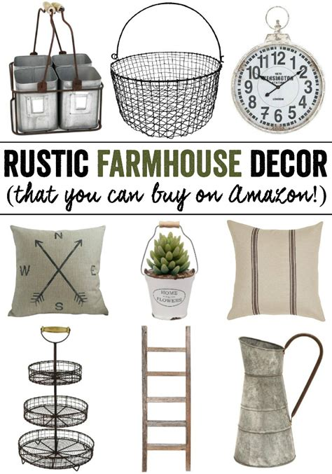 buy rustic home decor rustic farmhouse decor from amazon kendall rayburn