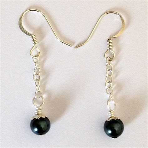 how to make pearl jewelry pearl drop earrings 183 how to make a dangle earring