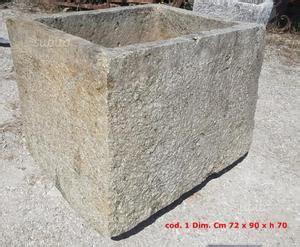vasche da giardino in pietra paracarri im pietra antichi posot class