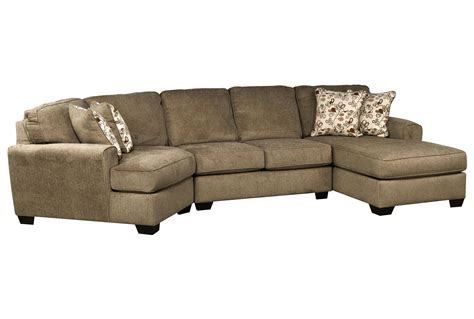 sofa with cuddler sectional patola park 3 piece cuddler sectional w raf cornr chaise