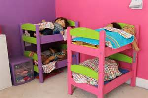 doll beds my built my s cats bunk beds and they actually