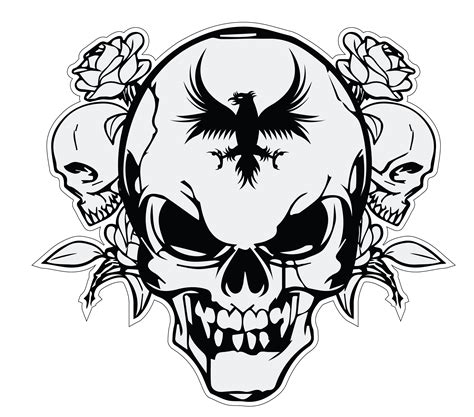 Kaos Logo Punisher Tengkorak Skull Vector Logo Logospike And Free Vector