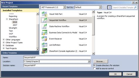 sequential workflow in sharepoint 2010 visual studio exles sequential workflow in sharepoint 2010 visual studio step