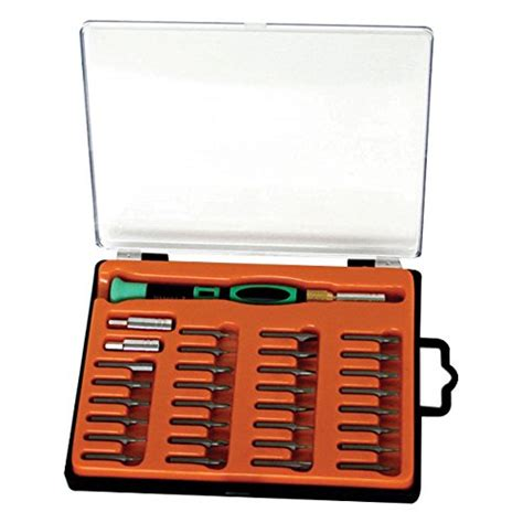 Interchangeable Professional Hardware Screwdriver Tools Obeng Set S eclipse tools 800 129 pro s kit screwdriver set with interchangeable bits and 33 pieces general