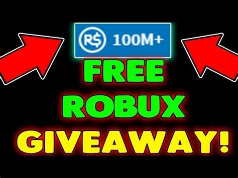 Twitch Giveaway Hack - 1m free robux giveaway join now how to get free robux on roblox 2017 asurekazani