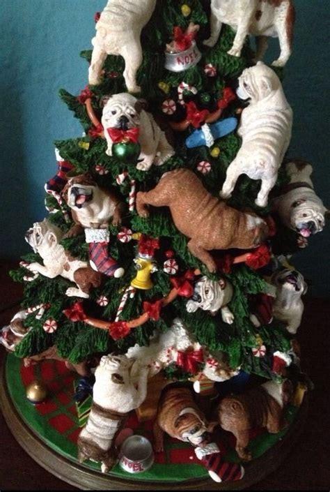 danbury mint bulldog christmas tree 7 best bulldog collectibles images on danbury mint bulldogs and bull