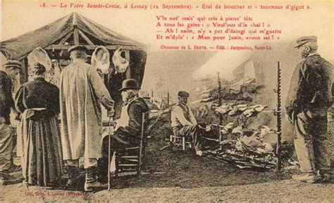 Foire De Lessay Dans La Manche by Foire De La Manche Cotentin Lessay La Sainte Croix