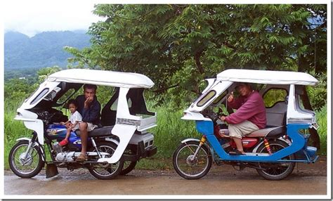 philippines motorcycle taxi subhanallah philippines sidecar taxis
