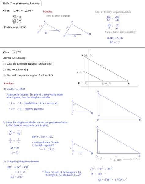 congruent triangles worksheet with answer geometry worksheet congruent triangles answer match problems