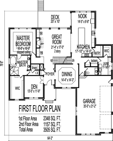 four story house plans 4 bedroom 2 1 bath floor plans
