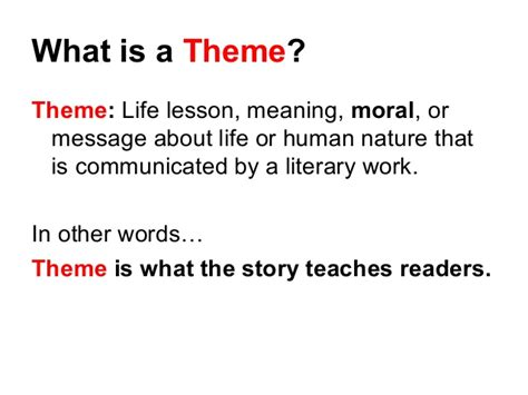 meaning of themes in powerpoint theme the search for meaning ppt