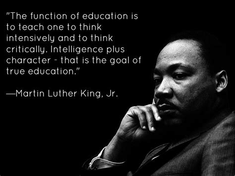 Martin Luther King Jr Quotes Martin Luther King Jr Quotes On Education Quotesgram