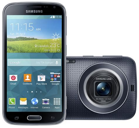 android zoom samsung galaxy k zoom with 20 7mp 10x optical zoom android 4 4 announced