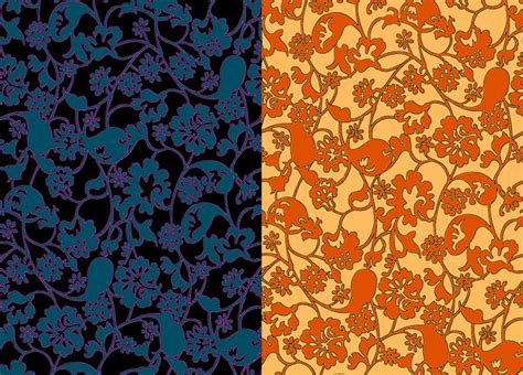 pattern stroke illustrator stroke decorative pattern background free vector in adobe