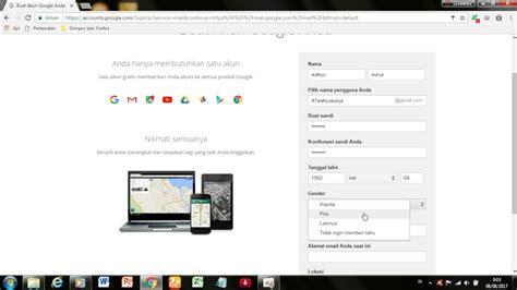 membuat gmail youtube toturial cara membuat akun gmail versi terbaru 2017 dengan