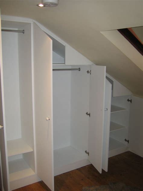 Loft Closet Solutions by 24 Best Images About Closets With Slanted Ceilings On