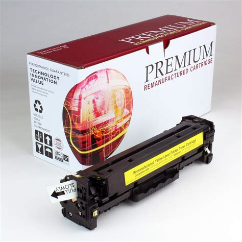 Toner Hp 305a Yellow premium brand replacement for hp 305a yellow ce412a toner