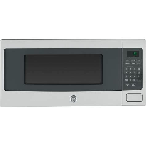 Can A Countertop Microwave Be Built In by Pem31sfss Ge Profile 1 1 Cu Ft Countertop Microwave Oven Stainless Steel