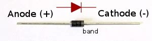 diode number is an 1n4007 diodes for beginners