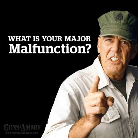 What Is Your Meme - q a with r lee ermey quot what is your major malfunction