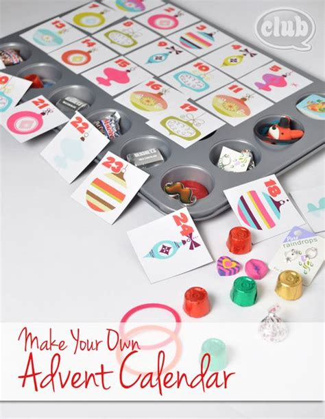 make your own advent calendar free make your own advent calendar and free printable tween