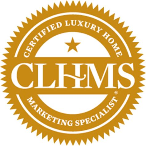 certified luxury home marketing specialist designation home clhms org