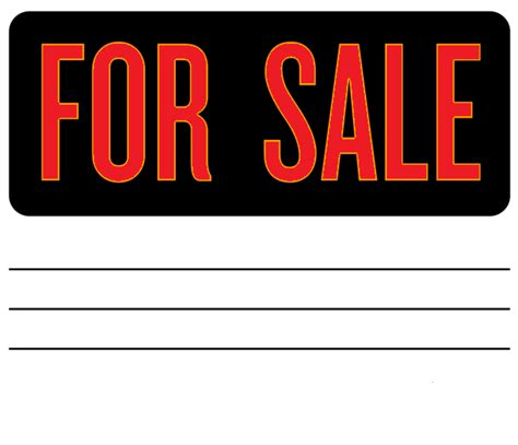 templates for sale car for sale sign template car for sale by owner