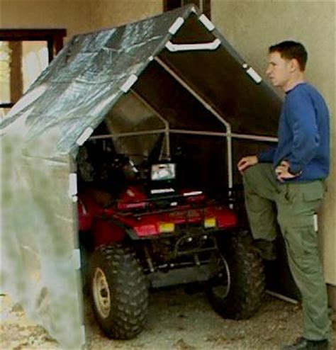 Portable Golf Cart Garage by Free Plans For A Pvc Pipe Cover Mini Garage
