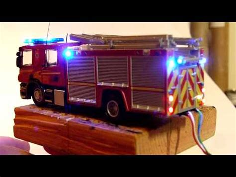 Sania Kid Blue merseyside rescue service truck 1 76 scale