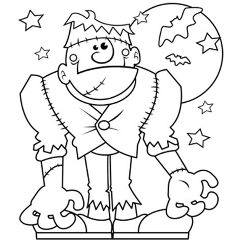 coloring pictures of halloween monsters halloween monster coloring pages getcoloringpages com