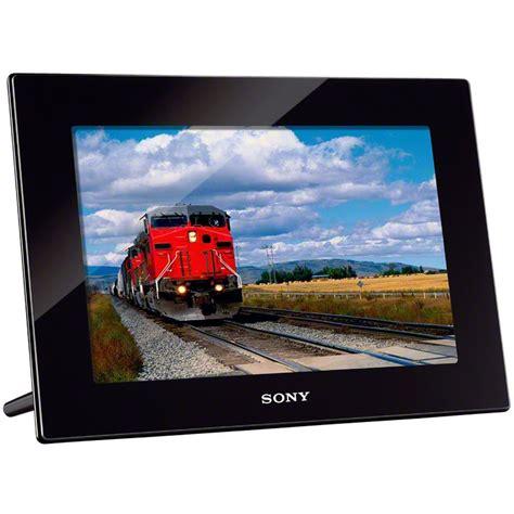 sony frame sony 10 1 quot digital photo frame dpfhd1000 b b h photo
