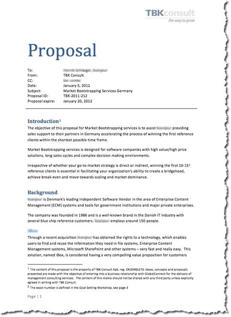proposal design and writing increase your prices part 9 the proposal hans peter bech
