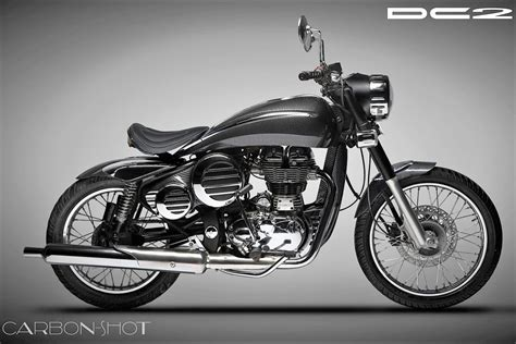 Bike Modification Dilip Chhabria by Meet Dc2 Carbon A Heavily Customized Royal Enfield
