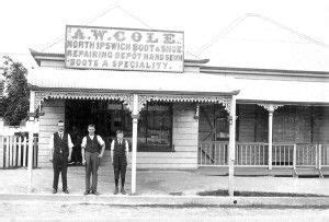 boat shoes qld a w cole staff at boot and shoe repairing shop north