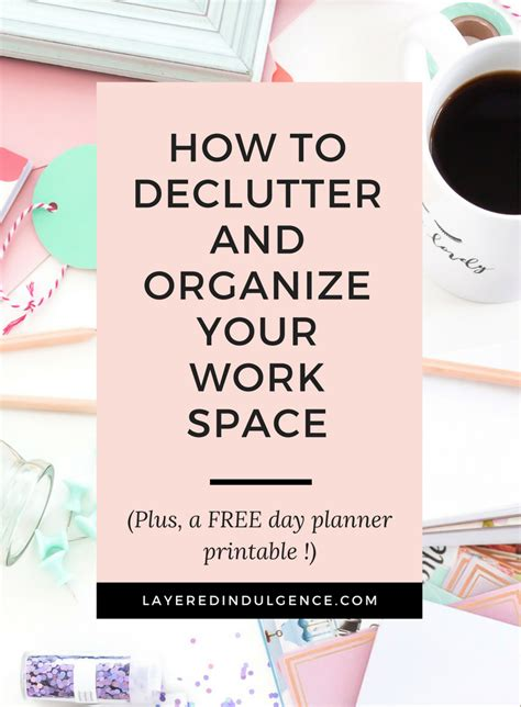 how to organize your desk at work how to declutter and organize your workspace