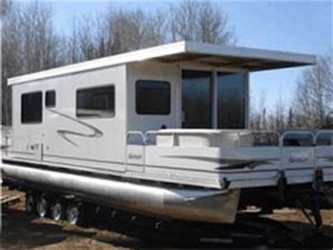 houseboat trailer 10 x 35 day boat pontoon houseboat w trailer motor