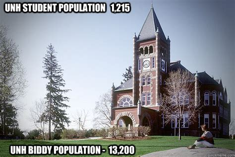 unh student population 1 215 unh biddy population 13 200