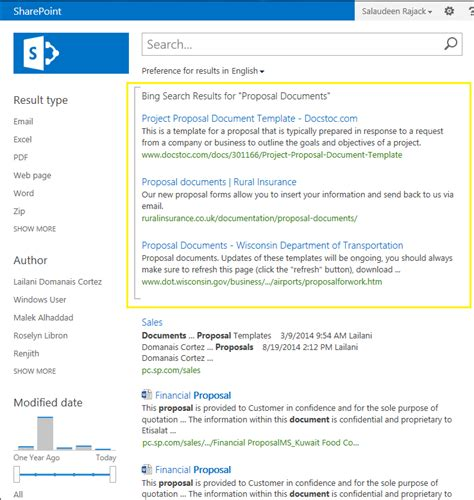 Customize Search Results Sharepoint How To Create Federated Search Results In Sharepoint 2013 Salaudeen Rajack S