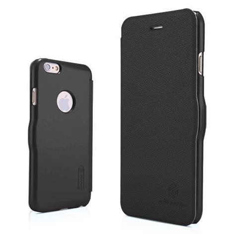 Nillkin Iphone 6 Plus Fresh Leather Black nillkin fresh leather apple iphone 6s black