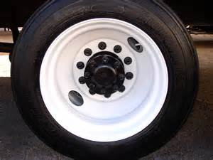 Truck Rims An Tires Painting Truck Trailer Wheels With Tire Mask
