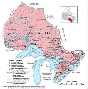 northern ontario map canada northern ontario gallery