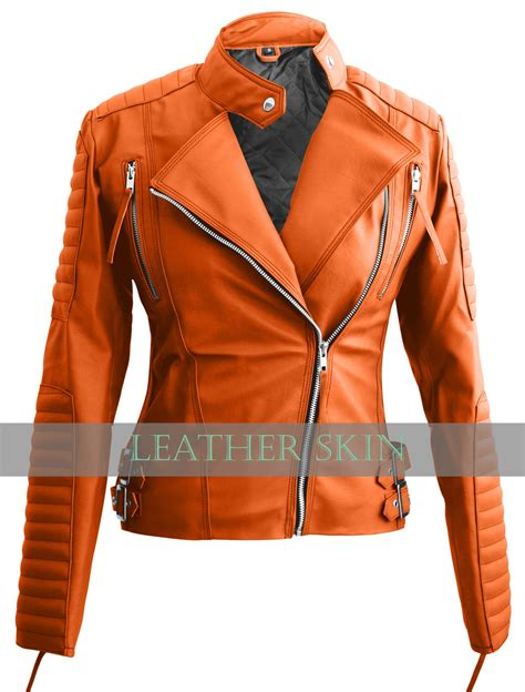 Jacket Jaket Cowok Orange Oranye nwt orange brando stylish premium synthetic leather jacket coats jackets