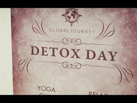 Tomorrowland Detox Day global journey detox day