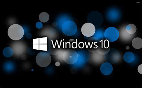 wallpaper laptop windows 10 windows 10 text logo on blue circles wallpaper computer