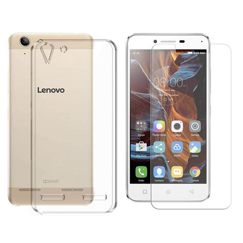 Hikaru Tempered Glass Lenovo K5 K5 Plus deltakart back cover for lenovo vibe k5 plus with tempered