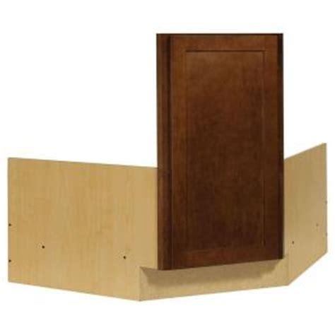 corner kitchen sink base cabinet hton bay shaker assembled 36x34 5x24 in corner sink