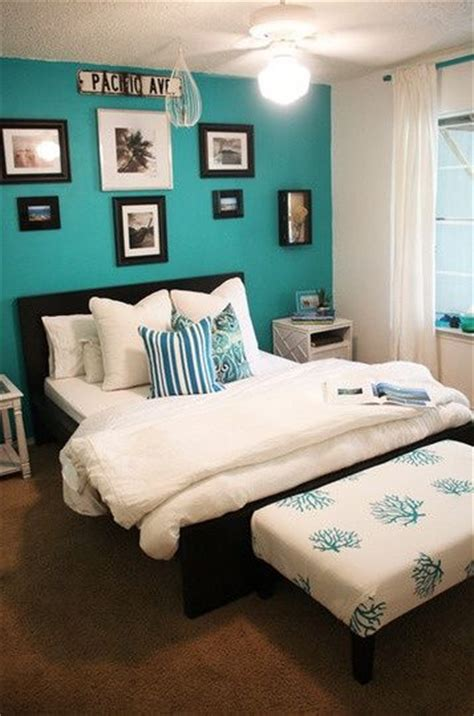 turquoise white bedroom best 20 turquoise bedrooms ideas on pinterest