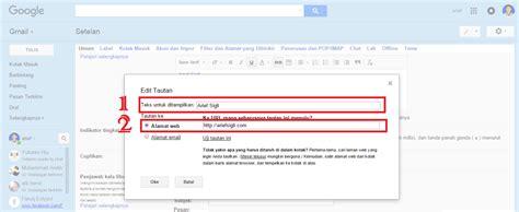 membuat signature pada gmail cara membuat signature email sepenuhnya